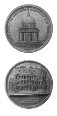 PIO VII, CHIARAMONTI, 68MM., O