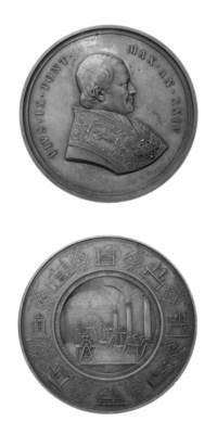 Pio IX, Mastai-Ferretti, bronz