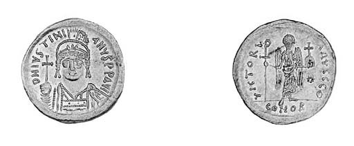 Solidus, a similar coin but of