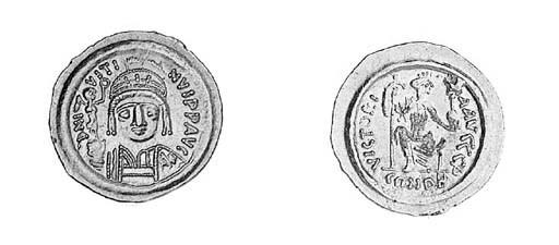 Solidus, Ravenna, a similar co