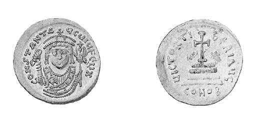 Consular Solidus, crowned bust