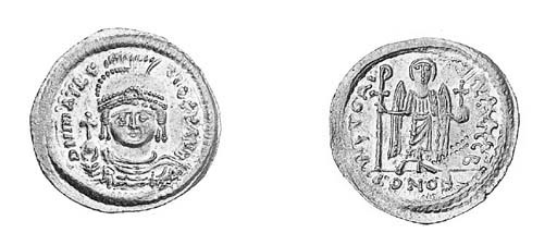 Solidus, a similar coin (MIB 6