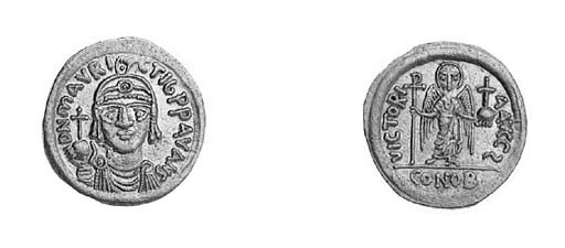 Solidus, Carthage, indiction 6