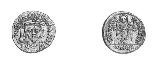Solidus, Carthage, indiction 8