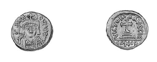 Solidus, Carthage, indiction 1