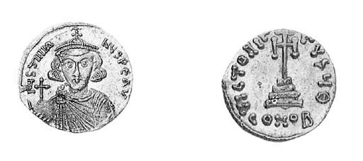 Solidus, a similar coin but  o