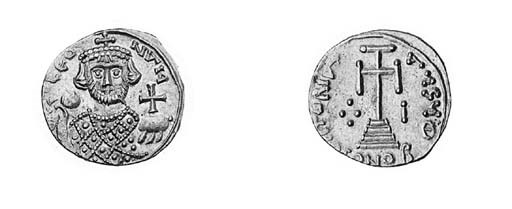 Solidus, Sicily, facing bust w