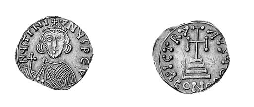 Solidus, Rome?, facing bust we