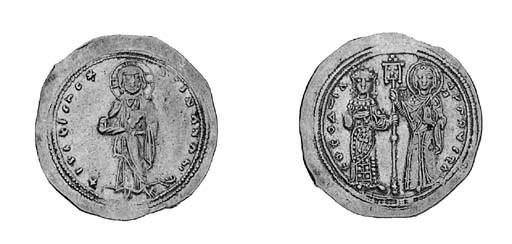 Histamenon, Christ standing on