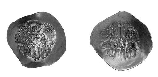 Hyperpyron, nimbate figure of