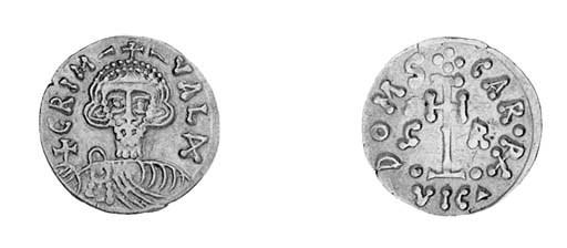Tremissis, a similar coin (BMC