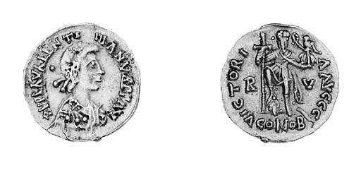 Pseudo-imperial solidus (c.A.D