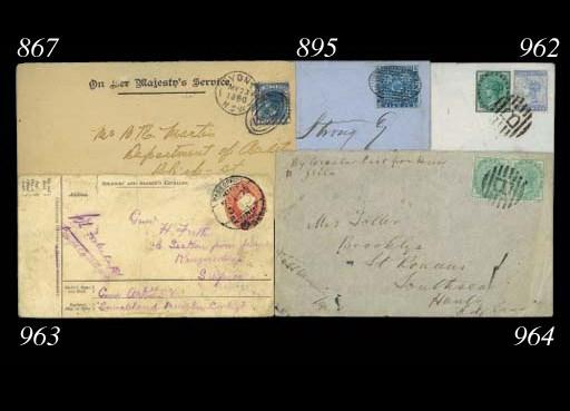 cover 1903 (23 Mar.) envelope