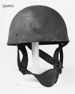 A WW2 Paratrooper's Helmet