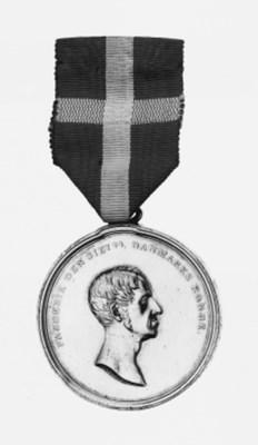 DENMARK, Medal for Saving Life