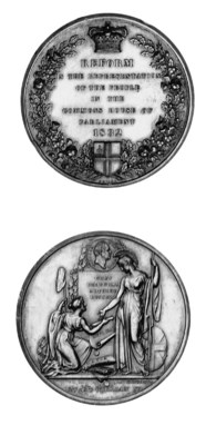 The Reform Bill, 1832, silver