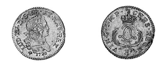 Louis XV, Louis d'or Mirliton,
