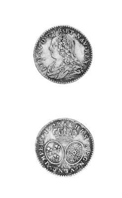 Louis XV, Half Louis d'or aux