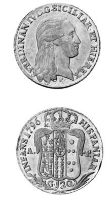 Italy, Naples, Ferdinand IV, P