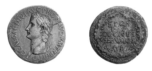 Sestertius, Pergamum, bare hea