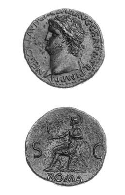 Nero (A.D. 54-68), Sestertius,
