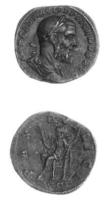 Pupienus (A.D. 238), Sestertiu