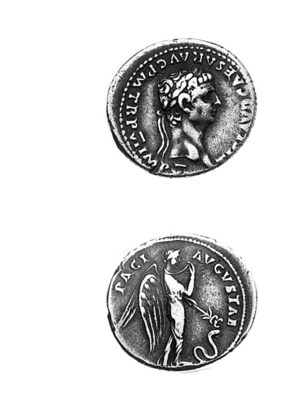 Claudius (41-54), Denarius, 46