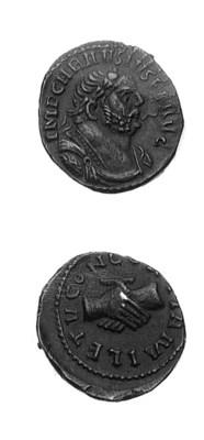 Caurasius (287-293), Denarius,