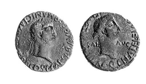 Caligula and Caesonia (AD 37-4