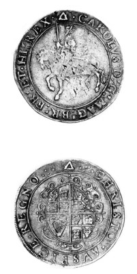 Charles I, group 3a, Crown, To