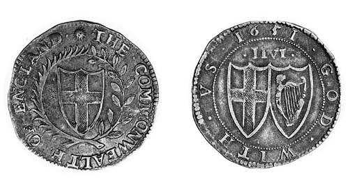 Commonwealth, Halfcrown, 1651,