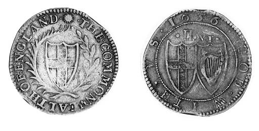 Commonwealth, Halfcrown, 1656,