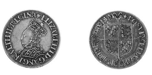 Elizabeth I, milled coinage, S