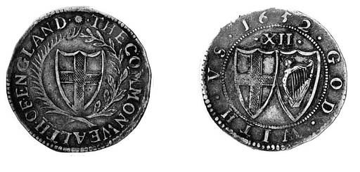 Commonwealth, Shilling, 1652,