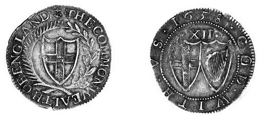 Commonwealth, Shilling, 1658,