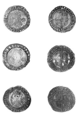 Elizabeth I, Sixpences (3), fi