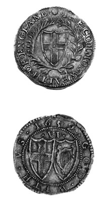 Commonwealth, Sixpence, 1652,