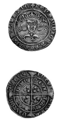 Henry VI, leaf-pellet issue, G