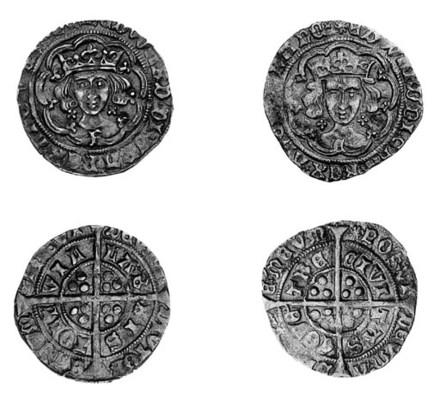 Edward IV, light coinage, Groa