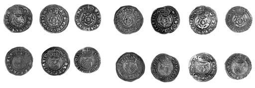 James I, second coinage, Halfg