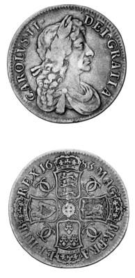 Charles II, Crown, 1683, simil