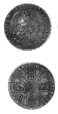 William and Mary, Crown, 1692,