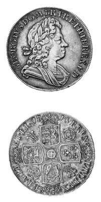 George I, Crown, 1716, laureat