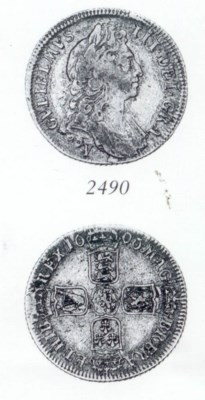 William III, Shilling, 1696Y,