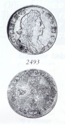 William III, Shilling, 1697E,