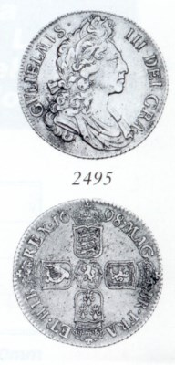 William III, Shilling, 1698, f