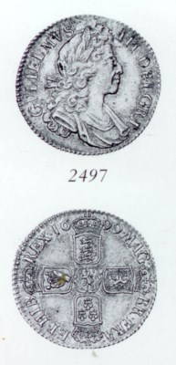 William III, Shilling, 1699, f