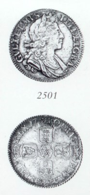 William III, Shilling, 1701, s