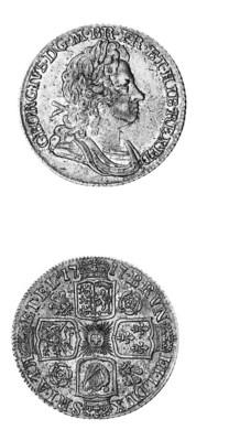 George I, Shilling, 1717, simi