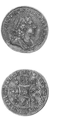 George I, Shilling, 1720, simi